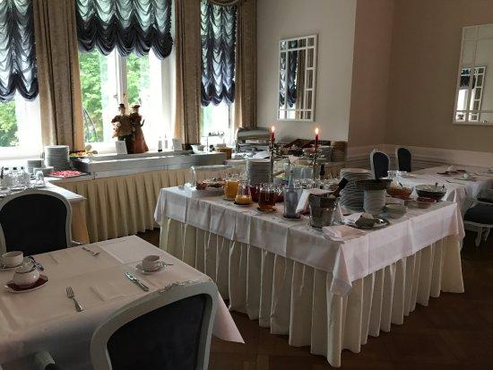 Schloss Hotel Wolfsbrunnen: Sehr spärliches Frühstück