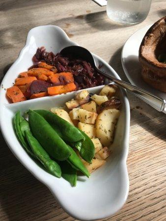Polegate, UK: veg for two people