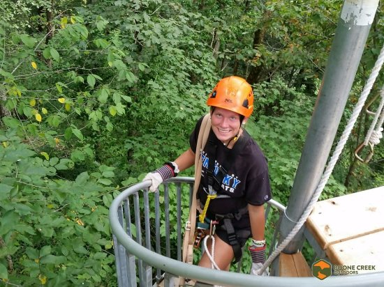 Boone Creek Outdoors Zipline Canopy Tour Adventure