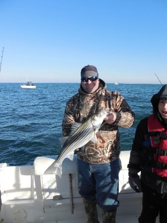 Cape May Court House, NJ: Striper Fishing with Brynnie-B Charters