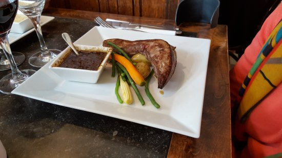 Уккел, Бельгия: Le foie de veau et sa compotée d'oignons