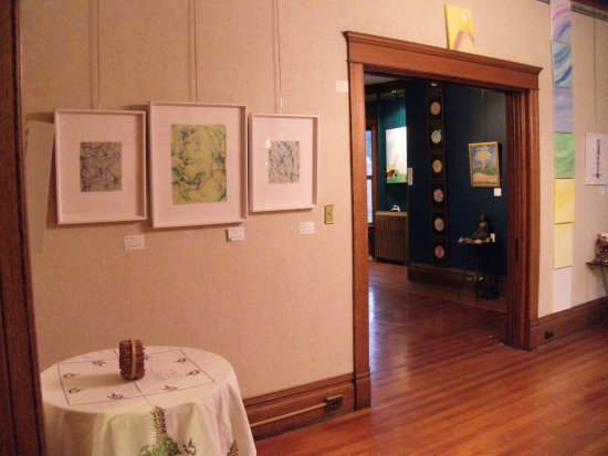 Eau Claire, WI: Looking into the Tower Room from the Bay Room Galaudet Gallery has over 1500 square feet