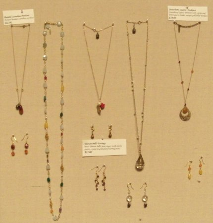 Eau Claire, WI: Galaudet Gallery also has One of a Kind jewelry from local and national jewelry artists