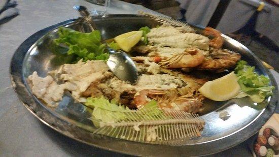 Ristorante Pizzeria Caminetto : grigliata di pesce