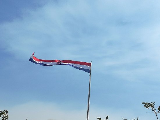 Knin Fortress: flag