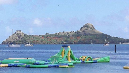 Gros Islet, St. Lucia: splash island