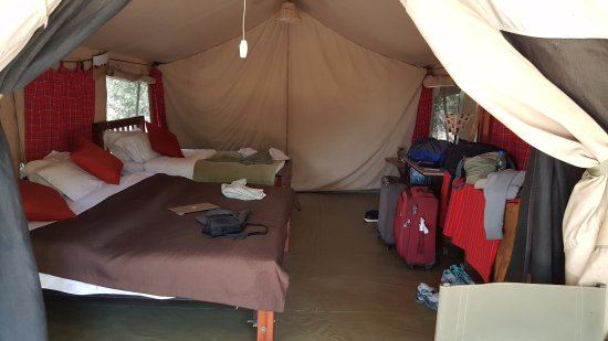 ‪‪Malaika Camp‬: Our Tent.‬