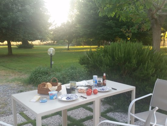 Cascina, Italia: Terrasse