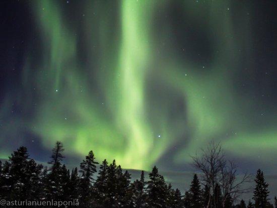 Inari, Suomi: Aurora over the fells