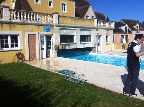 Belleme, France: l'envers du décor!