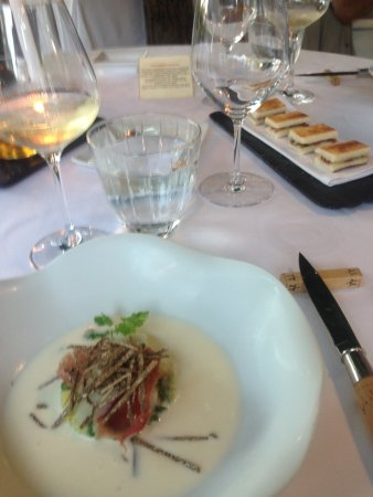 Tremolat, Γαλλία: Soup Course