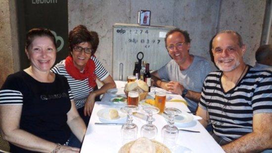 Lisbon District, Portogallo: jantar com os primos da terrinha