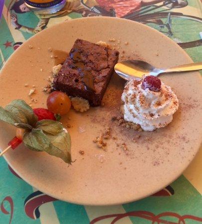 Restaurant L'Etoile: Chocolate brownie