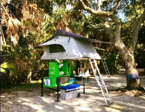 Hitch Top Tent Fort De Soto C&ground & Fort De Soto Campground - Picture of Hitch Top Tent Palmetto ...