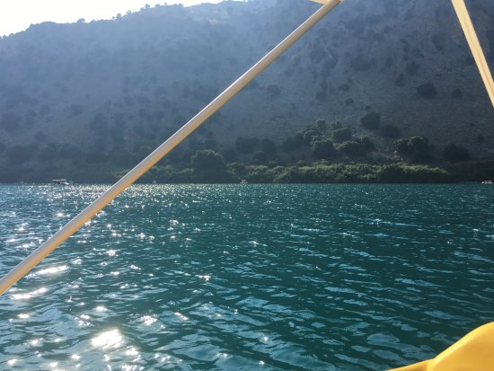 Kournas, Greece: from catamaran