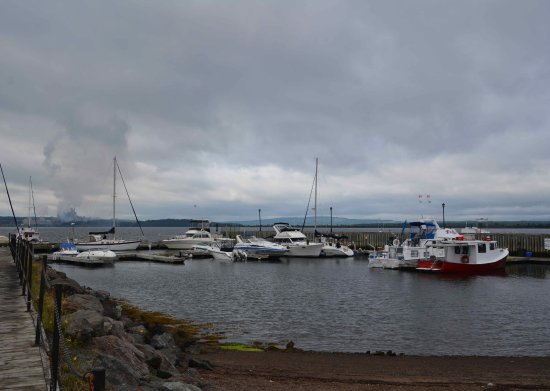 Pictou, Canadá: 2017-08-16 Hector Heritage Quay