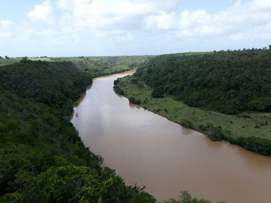 La Romana Province, Dominikanische Republik: nel paradiso dei caraibi siamo in escursione con italcruise sul fiume riho chavon