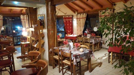 Ancelle, Francia: Dans le restaurant