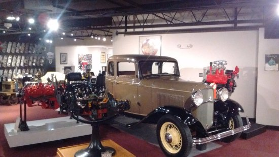 Museum of American Speed : Ford coupe