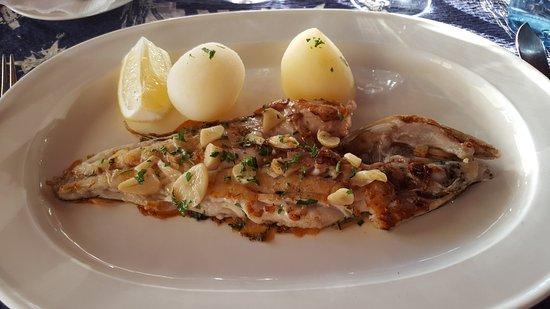 La Marinera: Dagens fisk med hvitløk