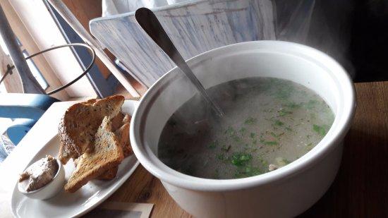 Vente, Lithuania: Fish soup