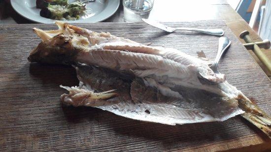 Vente, Lithuania: Main dish: Zander