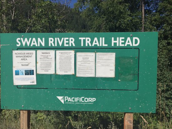 Bigfork, MT: Trail Head Sign