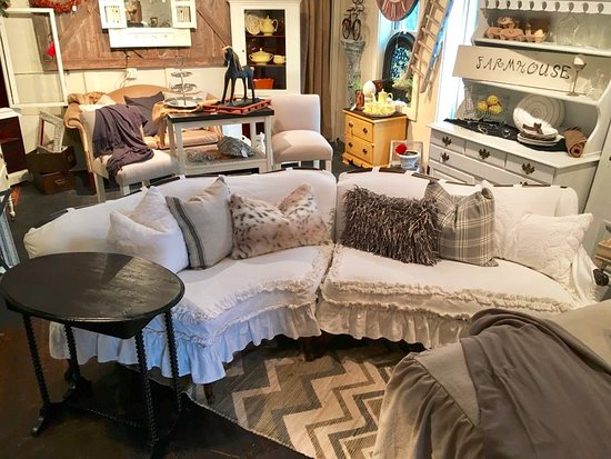 Buffalo, MN: This Vintage sectional is one of a kind
