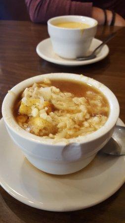 มอนโร, วิสคอนซิน: French Swiss Onion Soup