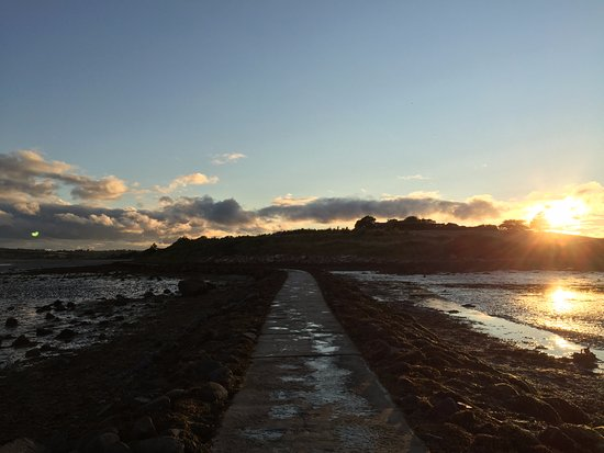 Comber, UK: Tide was definitely out