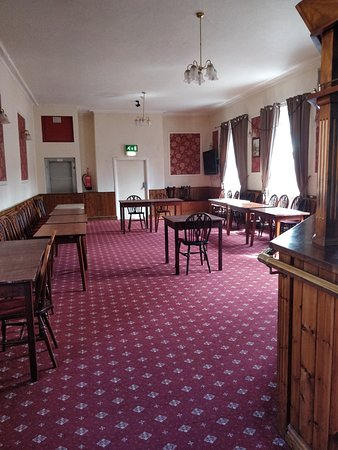 Bedale, UK: A room upstairs which I assume is used for functions/meetings