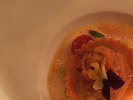 Hambleton, UK: Lobster Ravioli