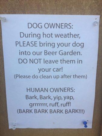 Missoula Dog Friendly Restaurants