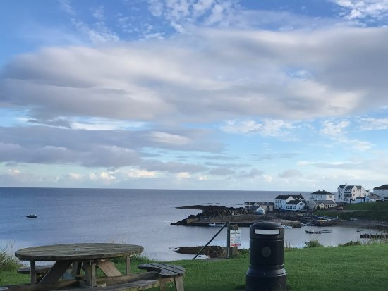 Portballintrae, UK: View of Harbour