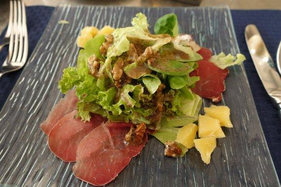Entlebuch, Suíça: Les salades sont très bonnes !