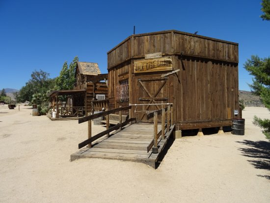 Pioneertown, CA: L'ex movie set di Pioonertown