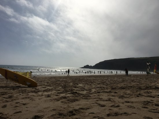 Praa Sands, UK: Clean beach