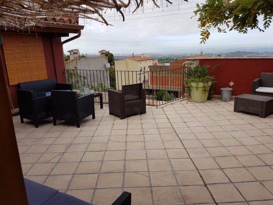 Niu de Sol - Hotel Rural: Terrasse