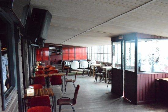 Sopelana, Spanyol: Terraza interior