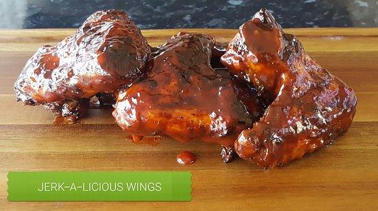 Jerk Island Grill: Sweet N Smoky BBQ-J Wings