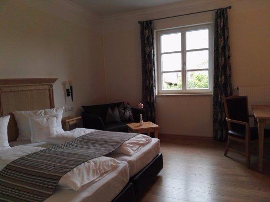 Finningen, Duitsland: de ruime slaapkamer