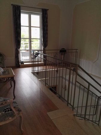 Finningen, Duitsland: de luxe trappenhal