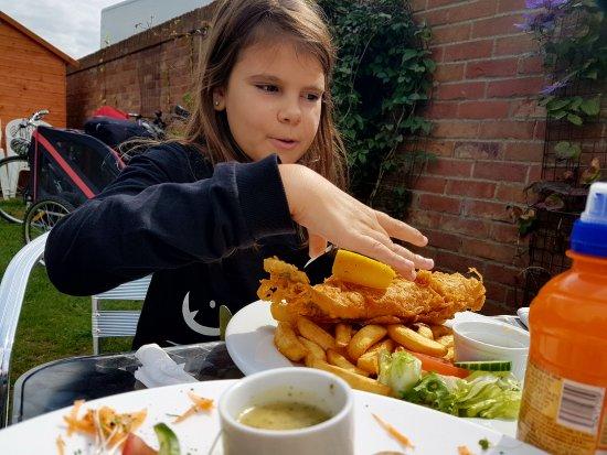 Happisburgh, UK: radość bo będzie smakować