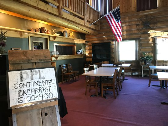 Dodge Peak Lodge : Continental Breakfast from 6am to 9:30am