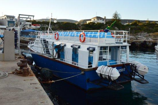 Hermanus, Sudáfrica: The boat