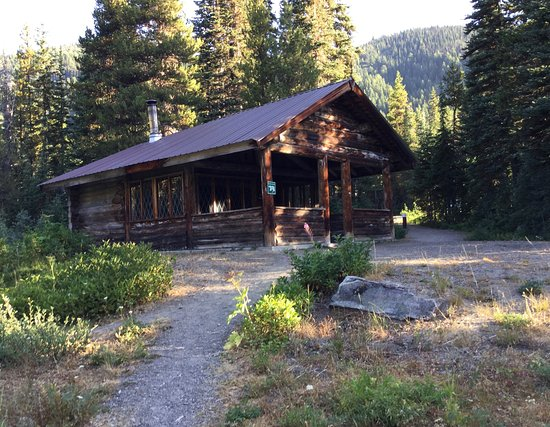 Manning Park, Kanada: Warm-up hut - Strawberry Flats trail.