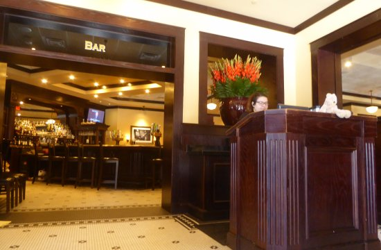 Columbia, MD: Bar Entrance and Reception Stand