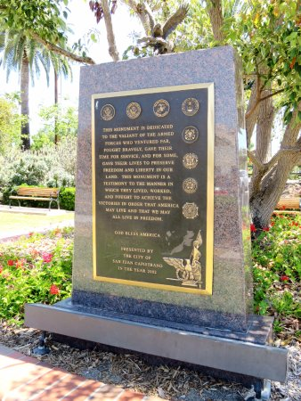 San Juan Capistrano - Veteran's Park Memorial (16/Aug/17).