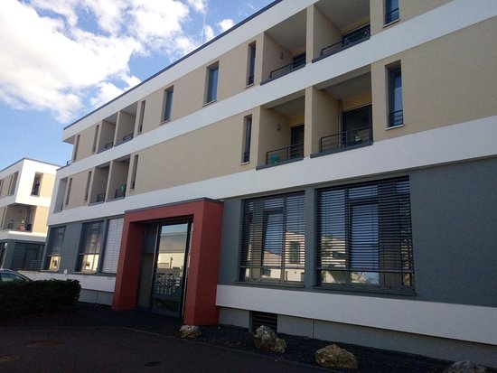 Schroeders Appartementhotel: L'hotel est au 1er étage.