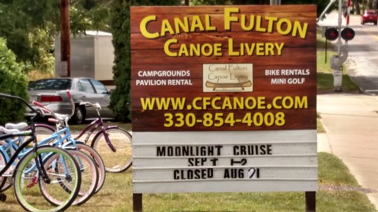 Canal Fulton, OH: Sign